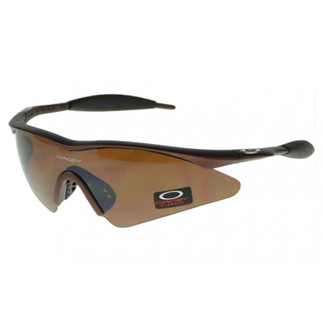 Oakley M Frame Sunglasses Brown Frame Brown Lens Worldwide Sale