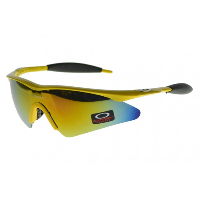 Oakley M Frame Sunglasses Yellow Frame Yellow Lens Canada Online