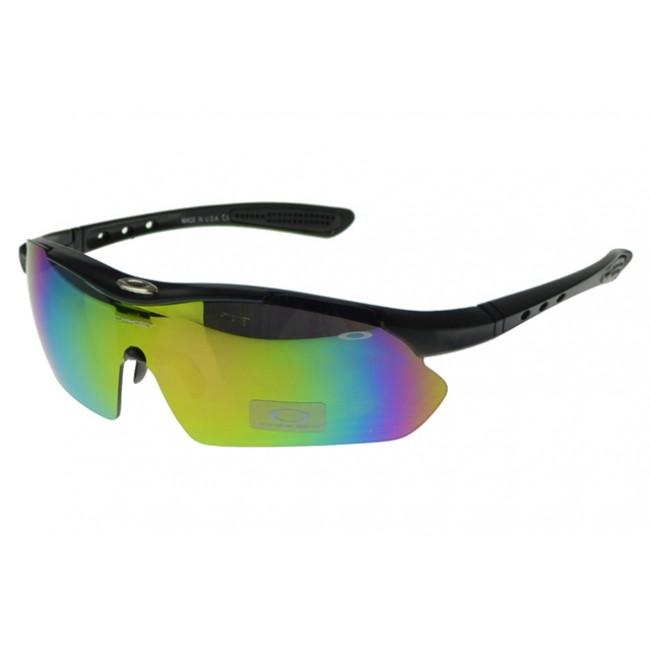 Oakley M Frame Sunglasses Black Frame Yellow Lens Outlet For Sale