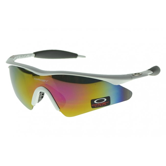 Oakley M Frame Sunglasses White Frame Colored Lens The Most Fashion Designs