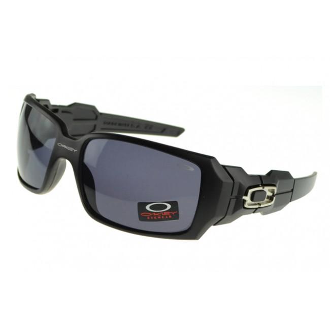 Oakley Oil Rig Sunglasses Black Frame Gray Lens All Colors Cheap