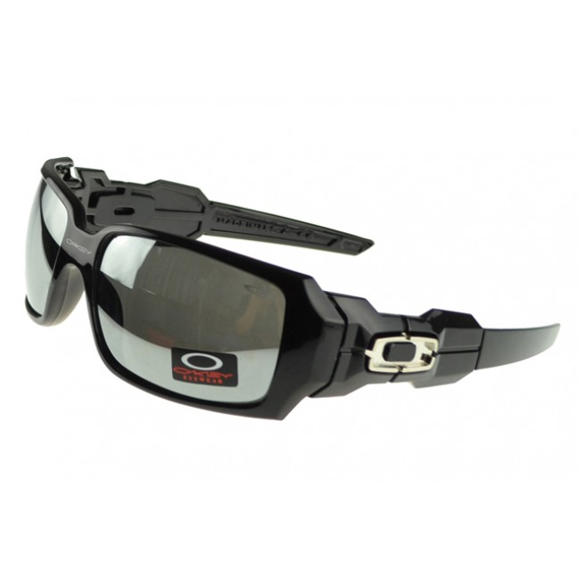 Oakley Oil Rig Sunglasses Black Frame Silver Lens Reliable Quality