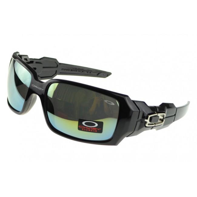 Oakley Oil Rig Sunglasses Black Frame Colored Lens Outlet Online