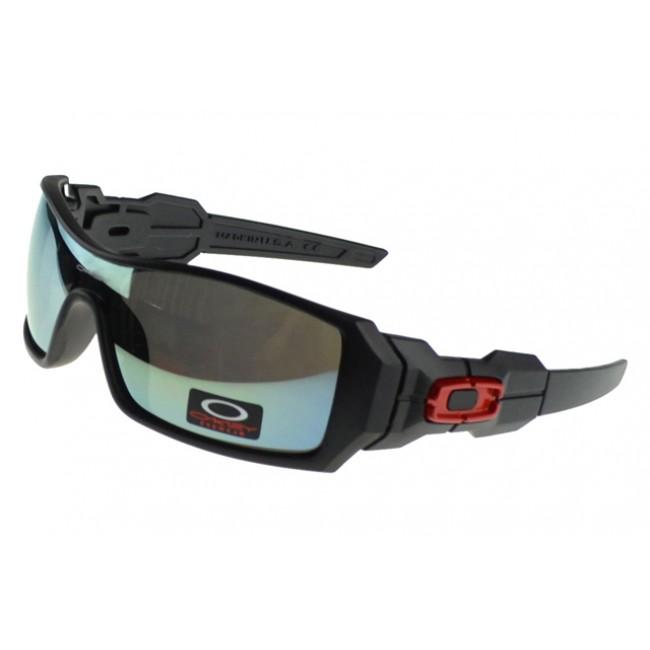 Oakley Oil Rig Sunglasses Black Frame Colored Lens Discount Off