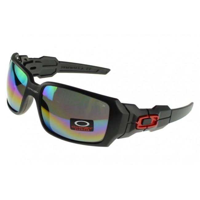 Oakley Oil Rig Sunglasses Black Frame Colored Lens Outlet Seller