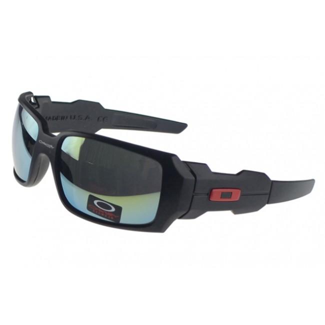 Oakley Oil Rig Sunglasses Black Frame Colored Lens Great Models