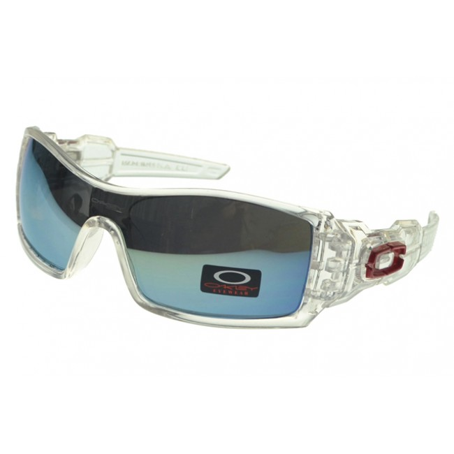 Oakley Oil Rig Sunglasses White Frame Colored Lens Outlet