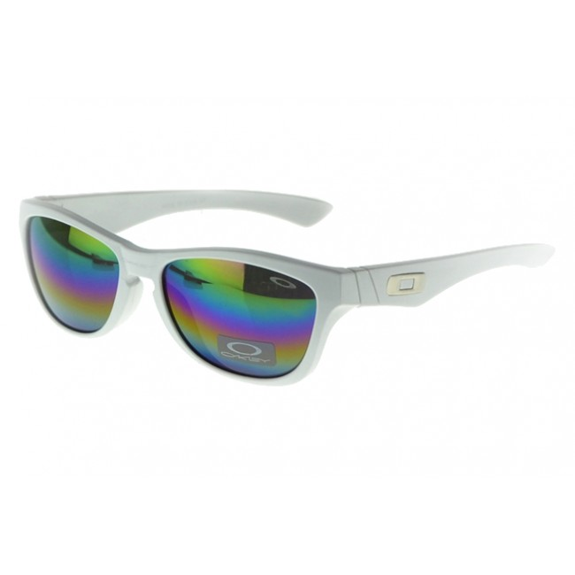 Oakley Polarized Sunglasses White Frame Blue Lens Great Models
