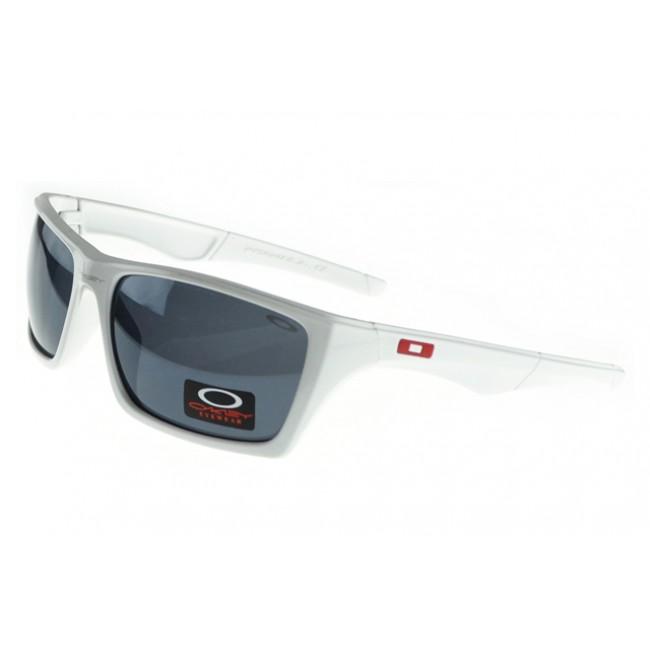 Oakley Polarized Sunglasses White Frame Gray Lens Top Brand