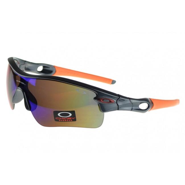 Oakley Radar Range Sunglasses Black Frame Colored Lens Quality Design