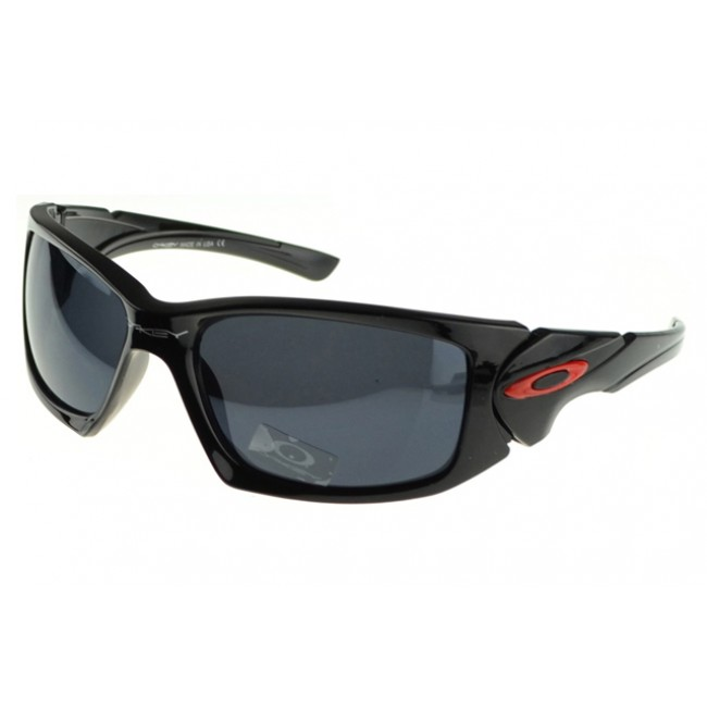 Oakley Scalpel Sunglasses Black Frame Gray Lens Red With Bule