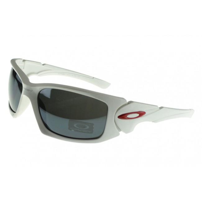 Oakley Scalpel Sunglasses White Frame Gray Lens Available