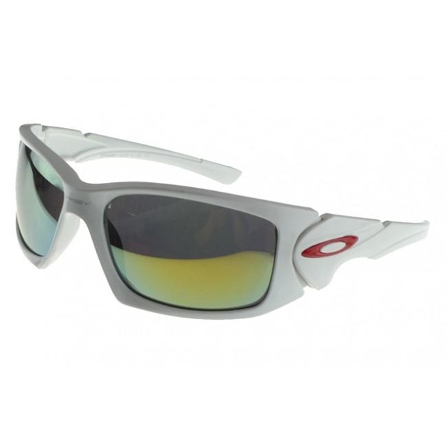 Oakley Scalpel Sunglasses White Frame Green Lens Gorgeous