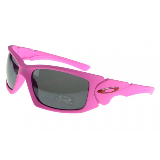 Oakley Scalpel Sunglasses Pink Frame Grey Lens Restaurant Chicago