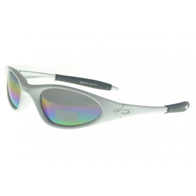 Oakley C Six Sunglasses white Frame multicolor Lens London Outlet