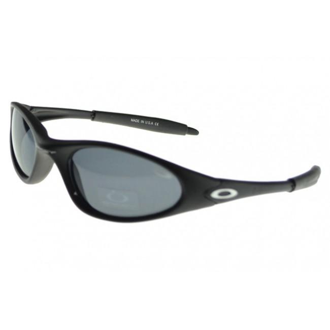 Oakley C Six Sunglasses black Frame blue Lens Projects Sale