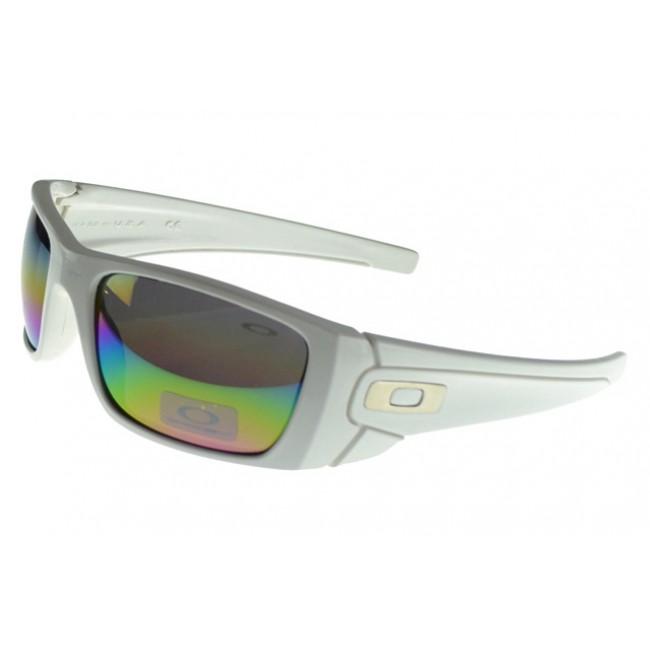 Oakley Fuel Cell Sunglasses white Frame multicolor Lens Street Fashion
