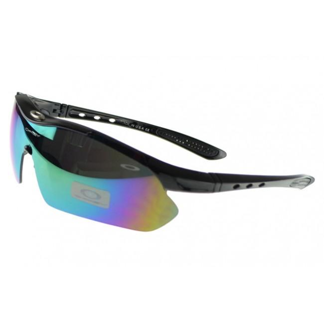 Oakley M Frame Sunglasses black Frame multicolor Lens Top Brand Wholesale Online