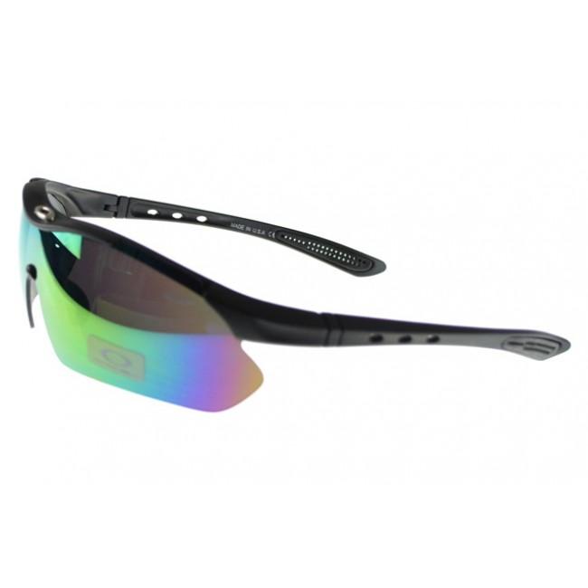 Oakley M Frame Sunglasses black Frame multicolor Lens Best Sale