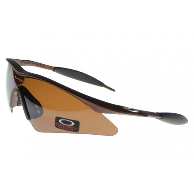 Oakley M Frame Sunglasses black Frame brown Lens USA Online