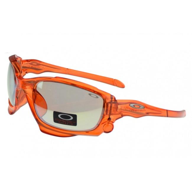 Oakley Monster Dog Sunglasses orange Frame grey Lens Outlet Sale