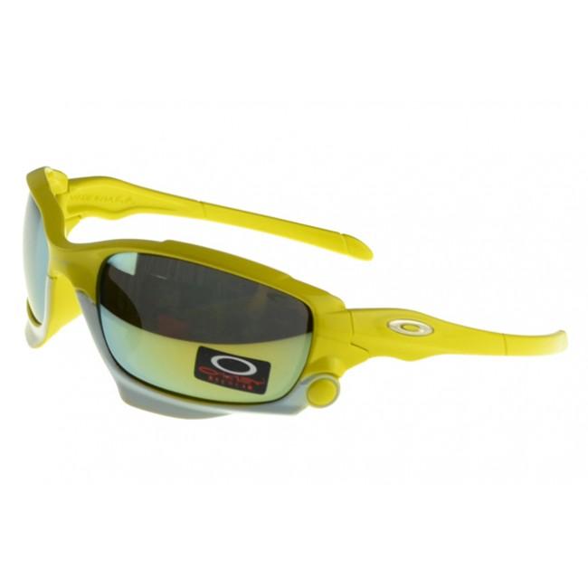Oakley Monster Dog Sunglasses yellow Frame green Lens Designer Fashion