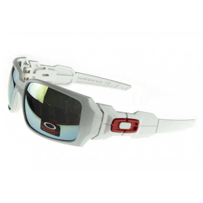 Oakley Oil Rig Sunglasses white Frame black Lens By Sale