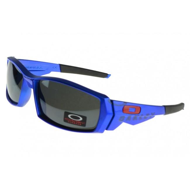 Oakley Oil Rig Sunglasses blue Frame green Lens AUS