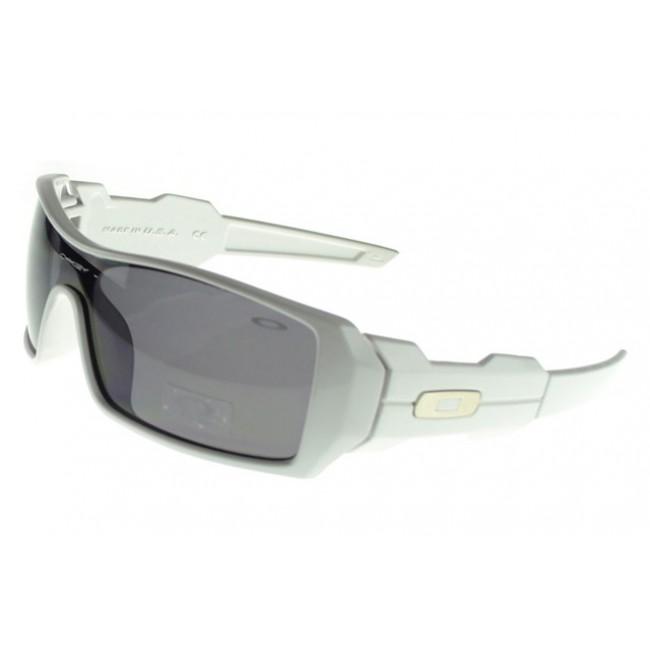 Oakley Oil Rig Sunglasses white Frame black Lens How Much Is Worth