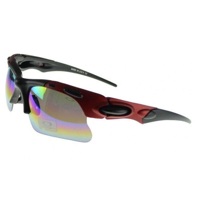 Oakley Radar Range Sunglasses red Frame blue Lens Cheap For Sale
