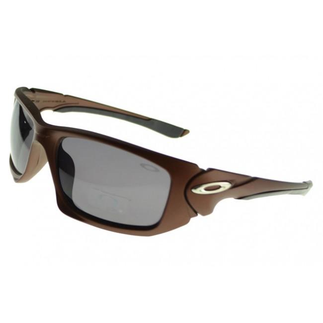 Oakley Scalpel Sunglasses brown Frame grey Lens Reliable Supplier